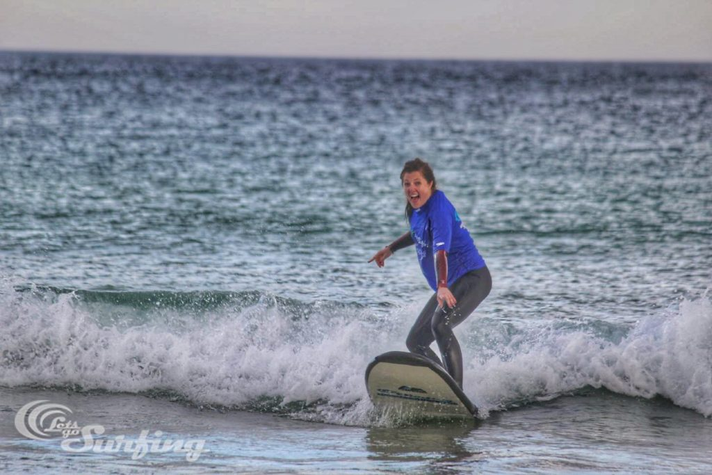 Riding a wave!
