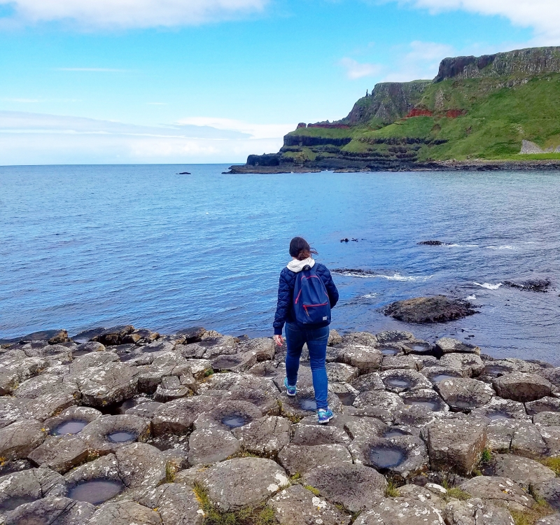 Travel Scavenger at the Giant's Causeway