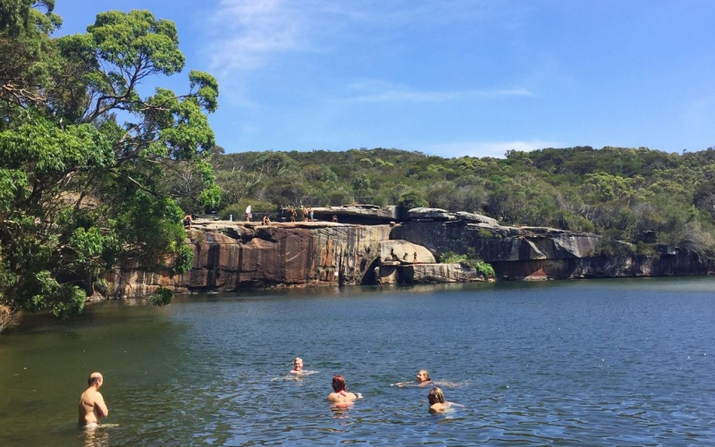 Wattamolla Lagoon, Royal National Park Sydney - one of the best things to do in Sydney!